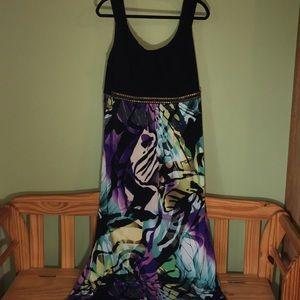 Roz & Ali woman's maxi dress